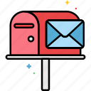box, email, mail, message