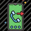 call, sending, phone, mobile icon