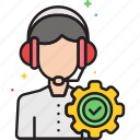 help, service, info, support icon