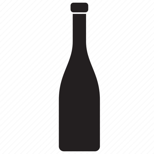 beverage, bottle, champagne, container, drink, glass, packaging icon