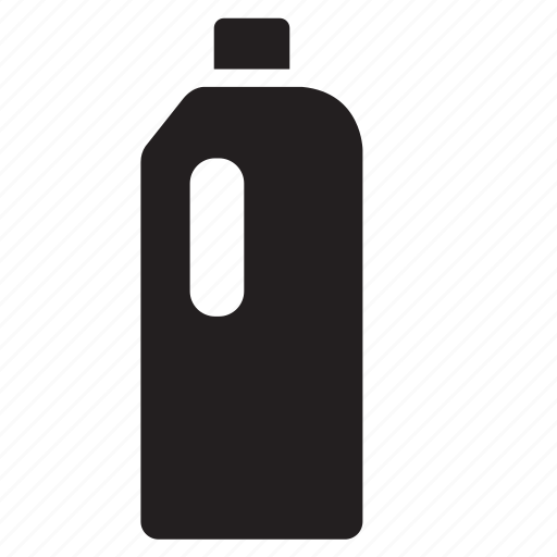 beverage, bottle, cleaning product, container, drink, packaging icon