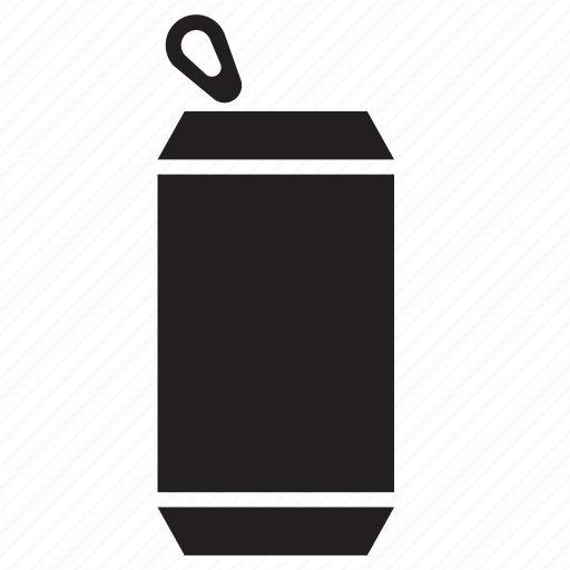 beverage, can, container, drink, packaging, soda, tin icon