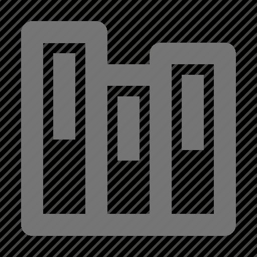 books, content, library icon
