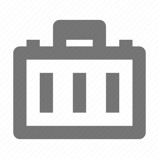 briefcase, content, luggage, suitcase icon