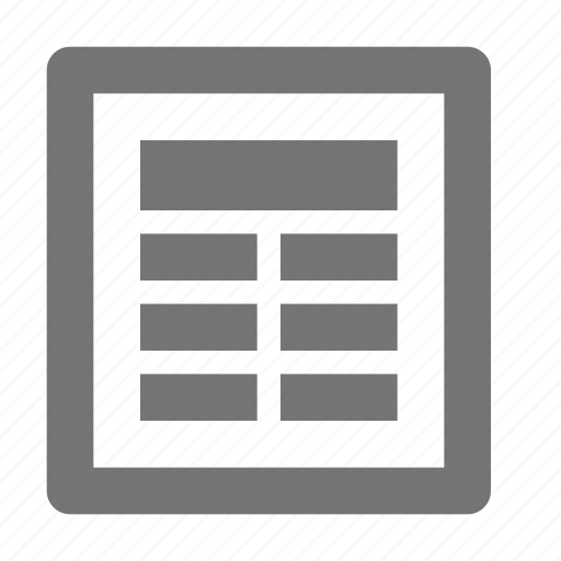 agenda, content, diary, document, file, newspaper, notebook icon