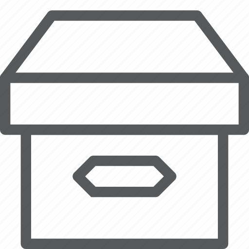box, closed, container, content, delivery, package, product icon