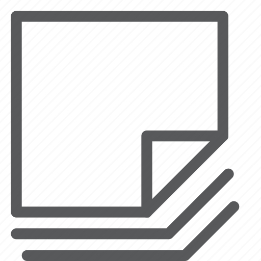 compose, content, document, layer, new, note, paper, reminder icon