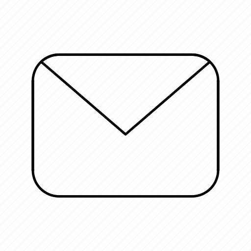 content, envelope, mail, message icon