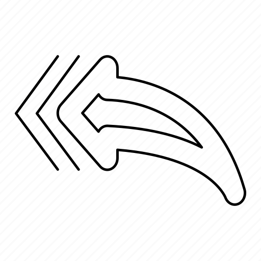 all, arrow, content, reply icon