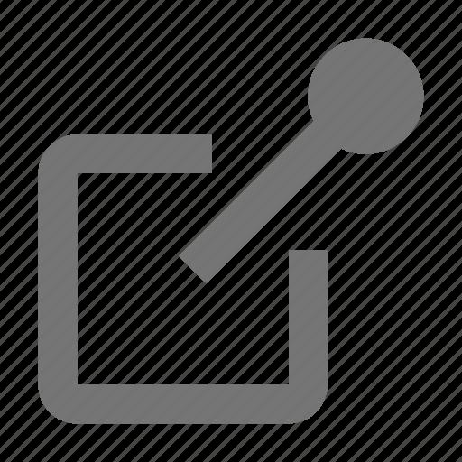 document, notes, paper, pin, pushpin, reminder, tack, thumbtack icon