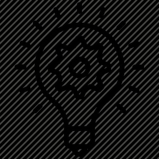 creative idea, creative process, creativity, idea generation, innovation icon
