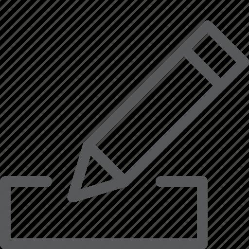 content, edit, edition, fill, form, pencil, textbox, write icon