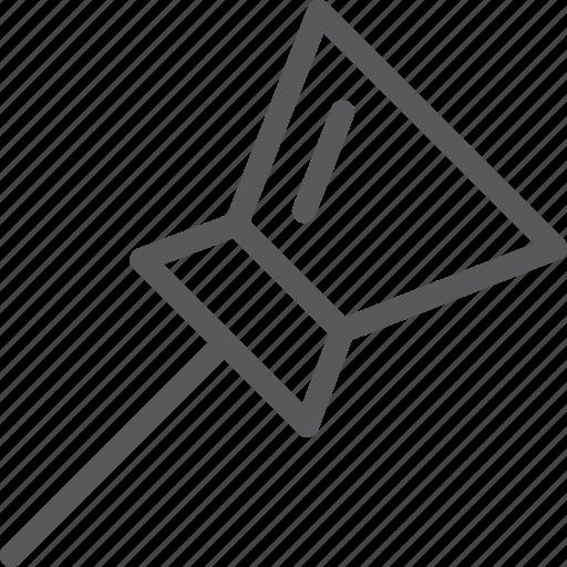 content, edition, location, map, marker, pin, tack, thumbtack icon