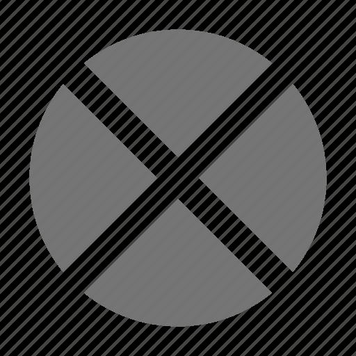 block, close, delete, remove, stop icon