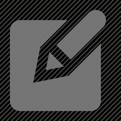 edit, fill, pen, pencil icon