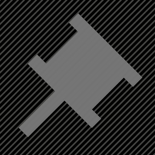 pin, tack icon