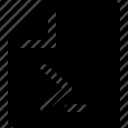 code, file, paper, program, sheet, text icon
