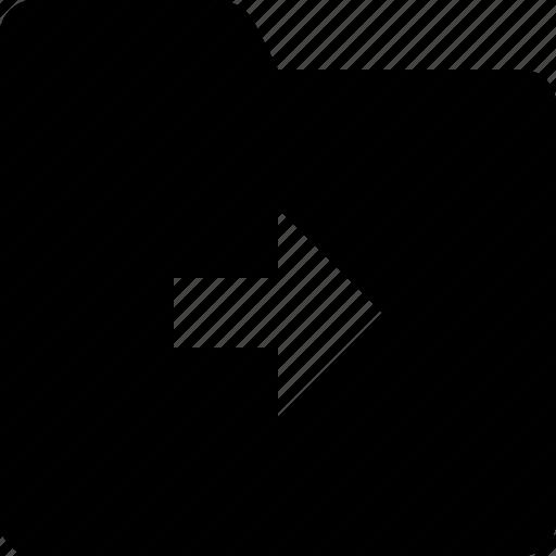 arrow, category, document, folder, next, right icon