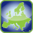 europe, frame, in icon