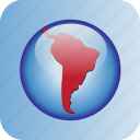 america, argentina, brasil, continent, country, mexico, south america icon