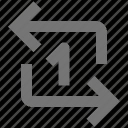 arrow, loop, refresh, reload, software, sync, tool, workflow icon