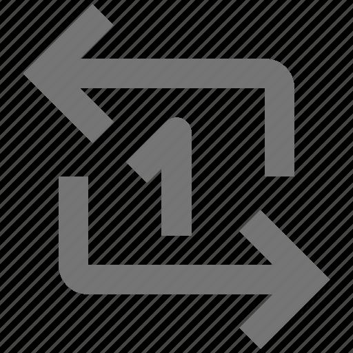 arrow, arrows, refresh, reload, sync icon