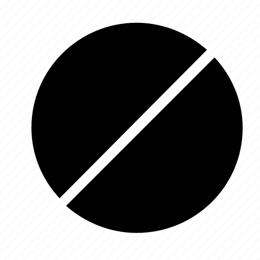 block, cancel icon
