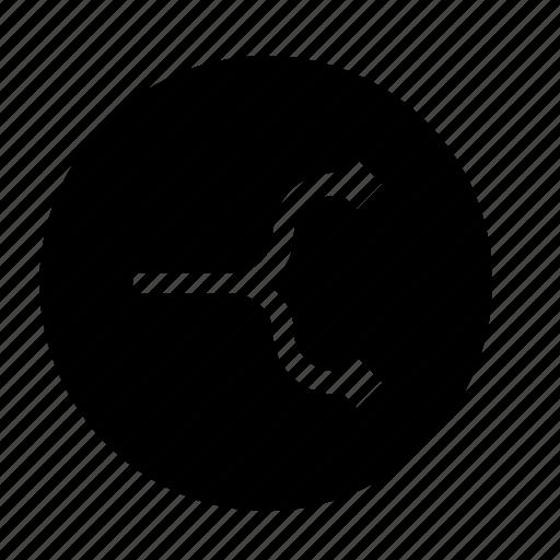 divide, split icon