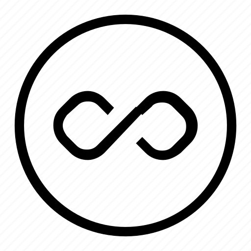 infinite, loop icon