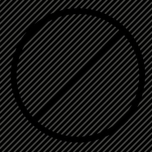 Block, cancel, stop, close, delete, remove icon - Download on Iconfinder