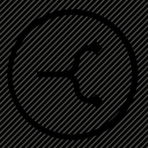 separate, split icon