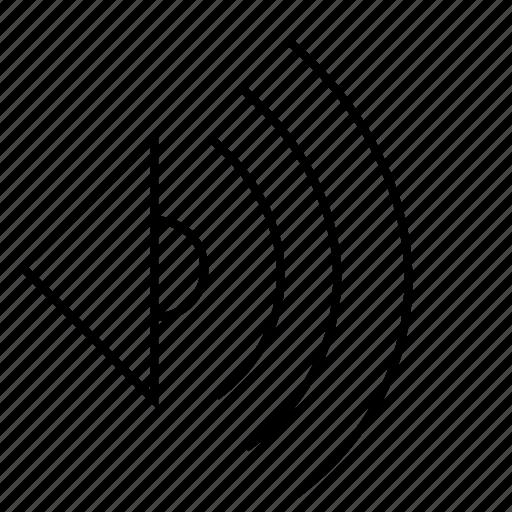 melody, music, sound, speaker icon
