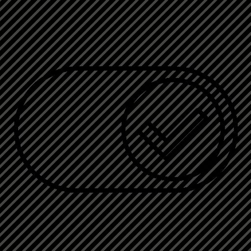 accept, ok, on, switcher icon