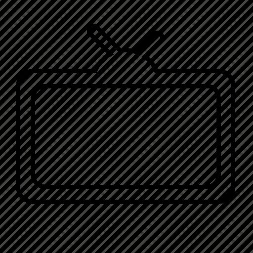 antenna, monitor, screen, signal, tv icon