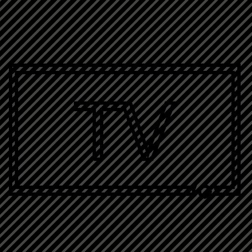 monitor, plazma, screen, tv icon
