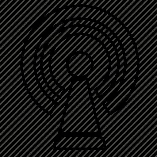 antenna, internet, radio, signal, tv icon