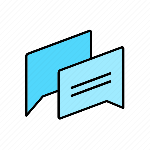 chat, conversation, dialogue, email, message, question, talk icon