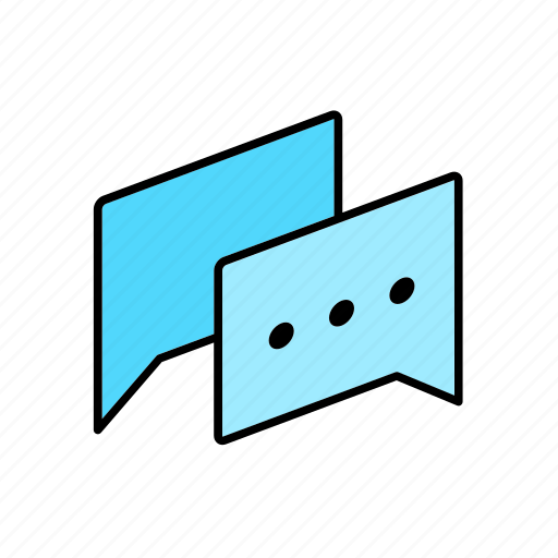 Chat, conversation, dialogue, message, question, letter, talk icon - Download on Iconfinder