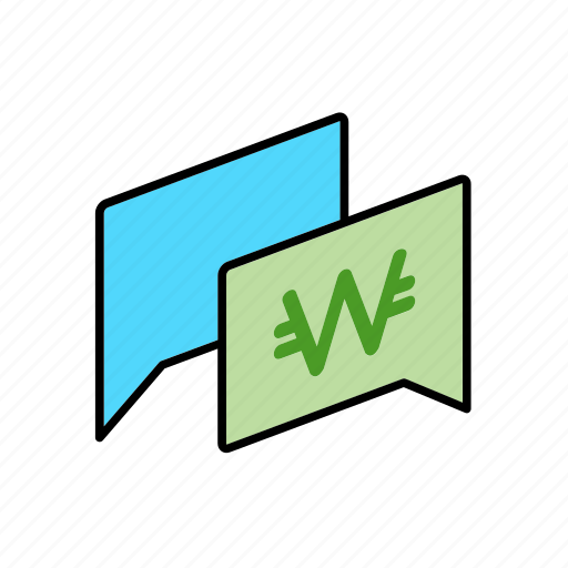 chat, conversation, dialogue, kpw, message, money, question icon
