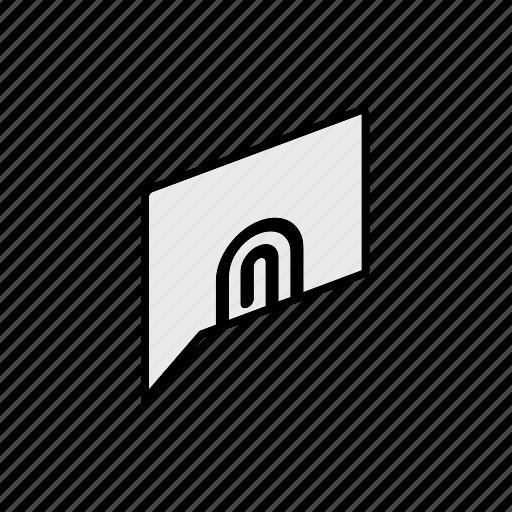 attachment, chat, conversation, dialogue, message, question, send icon