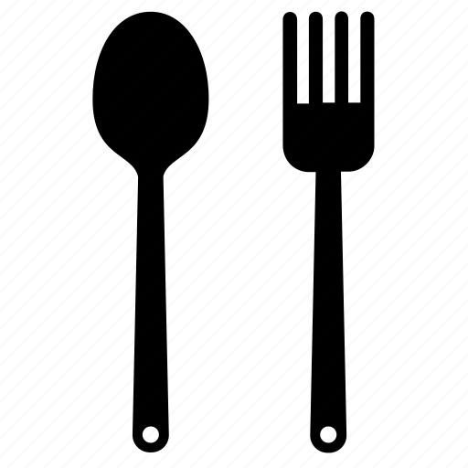 cooking, fork, kitchen, kitchenware, spoon, tool, utensil icon
