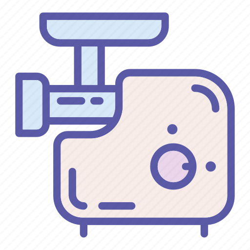 cooking, food, kitchen, machine, meat, mincer, tool icon
