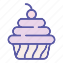 bakery, cake, dessert, food, pie, sweet, tasty icon
