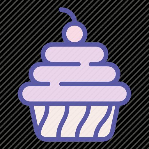bakery, cake, dessert, food, pie, sweet, tasty icon