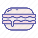 bun, burger, fastfood, food, hamburger, meal, sandwich icon