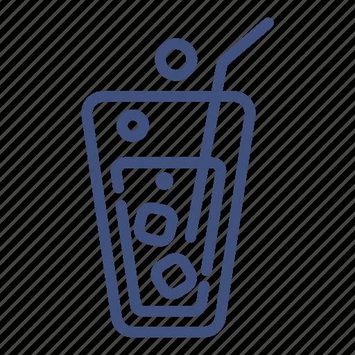 cola, drink, glass, ice, liquid, soda, sweet icon