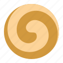 biscuit, cookie, cracker, pinwheel cookie icon