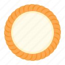 biscuit, cookie, cracker, cream, cream cheese cookie icon
