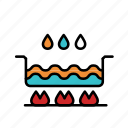 boil, cook, cooking, hot, meal, pot, soup icon