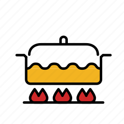 boil, cook, cooking, food, kitchen, pot, soup icon